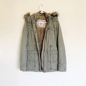 RUEHL No. 925 Faux Fur Lined Coat